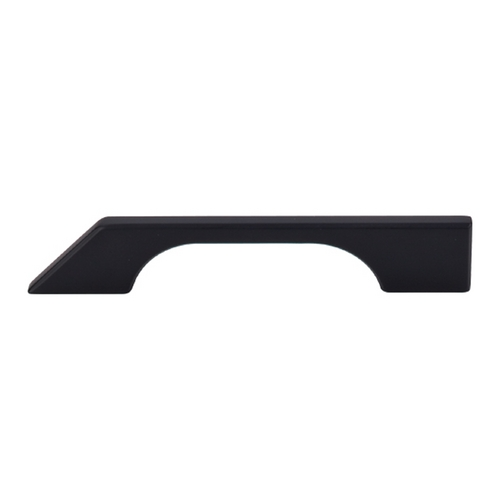 Top Knobs Hardware Modern Cabinet Pull in Flat Black Finish TK14BLK
