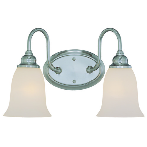 Jeremiah Lighting Jeremiah Linden Lane Satin Nickel Bathroom Light 26302-SN