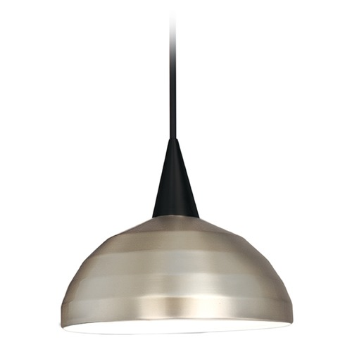 WAC Lighting Wac Lighting Industrial Collection Black Pendant PLD-F4-404BN/BK