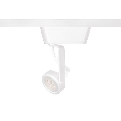 WAC Lighting Wac Lighting White LED Track Light Head JHT-180LED-WT