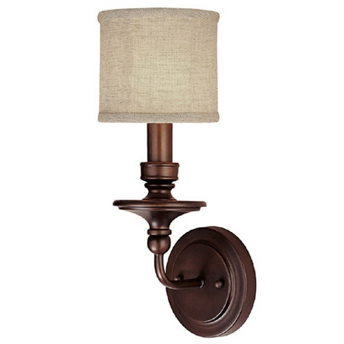 Capital Lighting Capital Lighting Burnished Bronze Sconce 1231BB-450