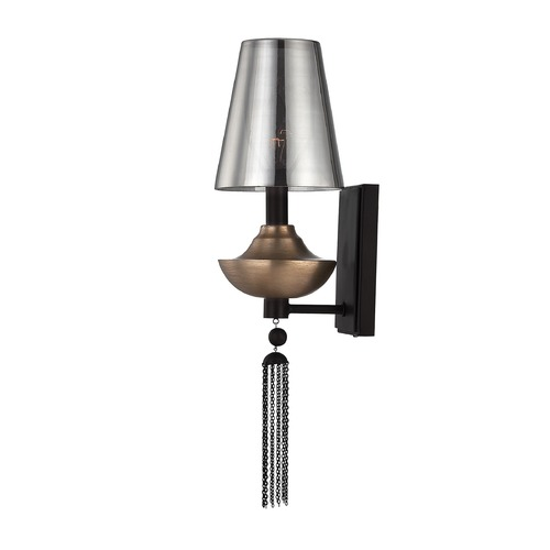 Savoy House Savoy House Ebony with Titian Accents Sconce 9-213-1-19