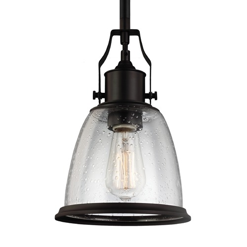 Feiss Lighting Feiss Hobson Oil Rubbed Bronze Mini-Pendant Light P1354ORB