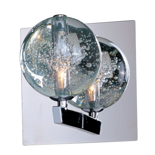 ET2 Lighting Modern Sconce Wall Light in Polished Chrome Finish E24250-91PC