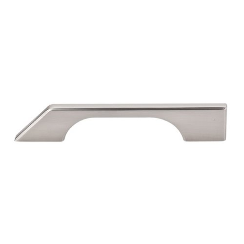 Top Knobs Hardware Modern Cabinet Pull in Brushed Satin Nickel Finish TK14BSN