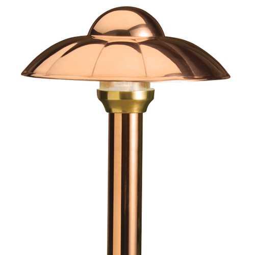 Copper Low Voltage Path Light 15433Co