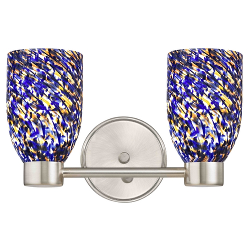Design Classics Lighting Design Classics Aon Fuse Satin Nickel Bathroom Light 1802-09 GL1009D