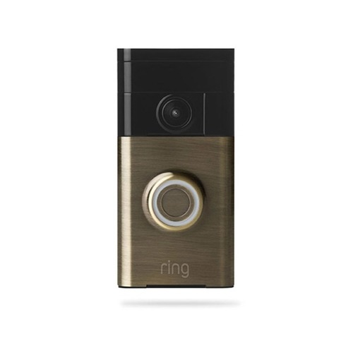 Ring Ring Video Doorbell - Antique Brass Finish 88RG003FC100