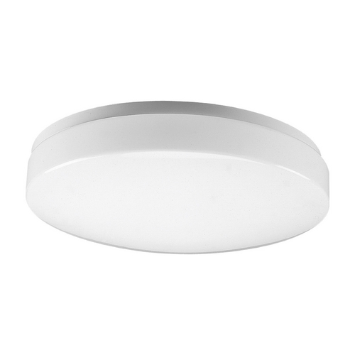Progress Lighting Progress Flushmount Light with White in White Finish P7378-30
