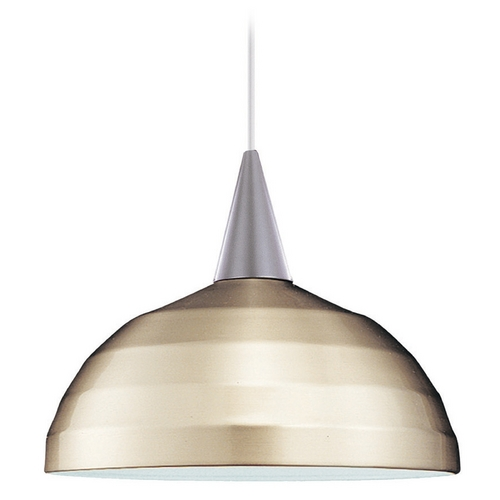 WAC Lighting Wac Lighting Industrial Collection Brushed Nickel Pendant PLD-F4-404BN/BN