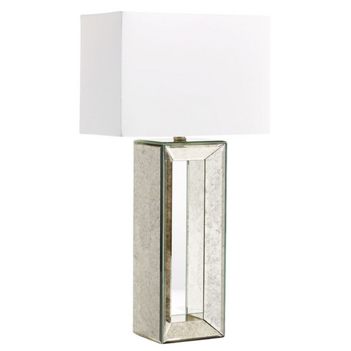 Cyan Design Cyan Design Metro Mirrored Glass Table Lamp with Rectangle Shade 05906-1