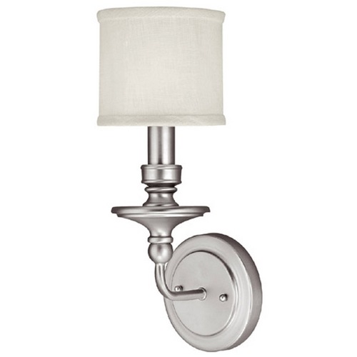 Capital Lighting Capital Lighting Matte Nickel Sconce 1231MN-451