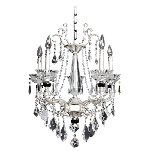Allegri Lighting Campra 5 Light Crystal Chandelier 024453-017-FR001