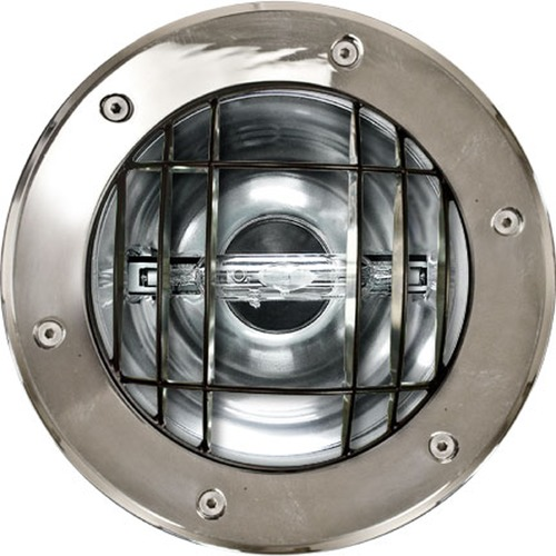 Dabmar Lighting Stainless Steel Stainless Steel In-Ground Well Light with Grill DW1352-GRL