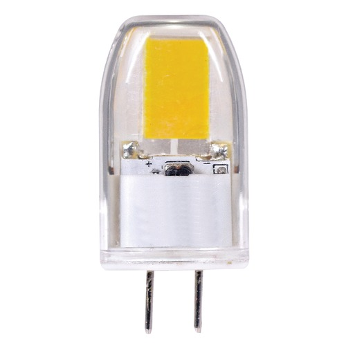Satco Lighting Satco LED T3 Bulb 2 Pin 360 Degree Beam Spread 3000K 12V 20-Watt Equivalent Dimmable S8601