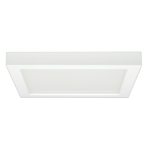 Satco Lighting Satco Lighting White LED Flushmount Light S9340