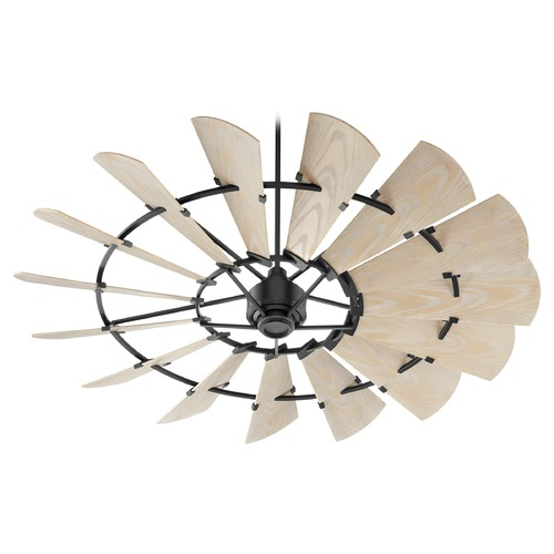 Quorum Lighting Quorum Lighting Windmill Noir Ceiling Fan Without Light 197215-69