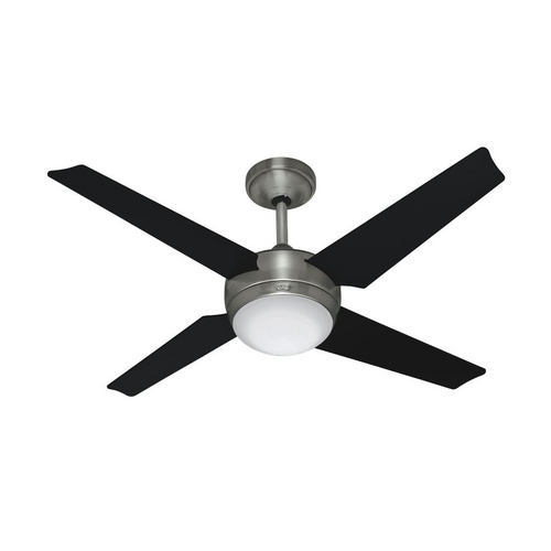 Hunter Fan Company Hunter Fan Company Sonic Brushed Nickel Ceiling Fan with Light 59072