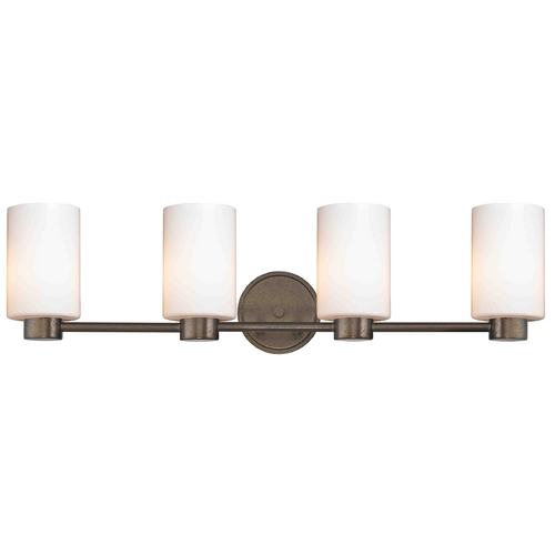 Design Classics Lighting Design Classics Lighting Aon Fuse Heirloom Bronze Bathroom Light 1804-62 GL1024C