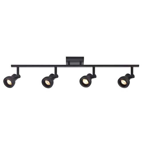 Recesso Lighting by Dolan Designs Track Light with 4 Spot Lights - Bronze - GU10 Base TR0304-BZ