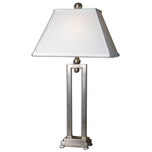 Uttermost Lighting Uttermost Conrad Silver Table Lamp 27800