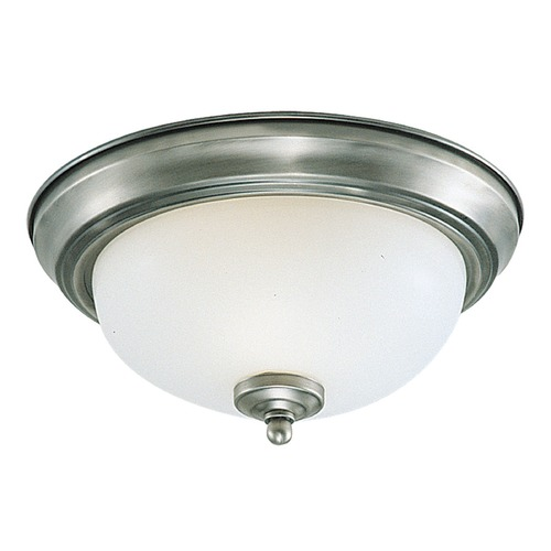 Sea Gull Lighting Sea Gull Lighting Ceiling Flush Mount Brushed Nickel LED Flushmount Light 7716391S-962