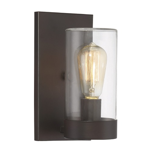 Savoy House Savoy House Lighting Inman English Bronze Outdoor Wall Light 9-1132-1-13