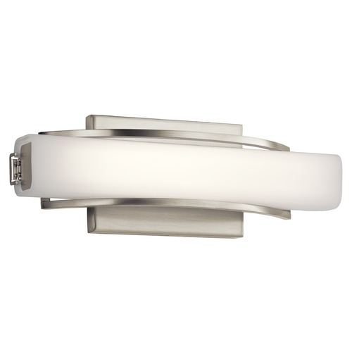 Elan Lighting Elan Lighting Rowan Brushed Nickel LED Sconce 83761