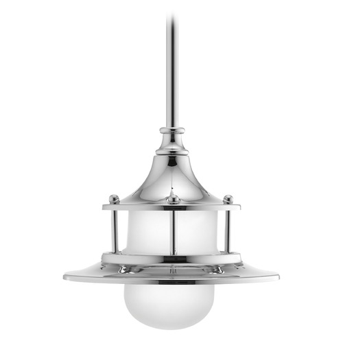 Progress Lighting Progress Lighting Parlay Polished Chrome LED Mini-Pendant Light with Bowl / Dome Shade P5329-1530K9