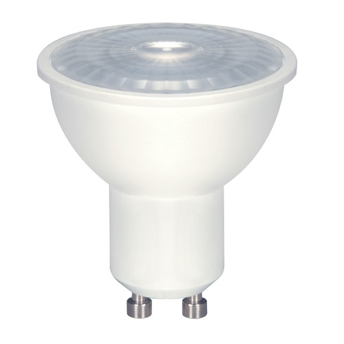 Satco Lighting 6.5W GU10 LED Bulb MR-16 40 Degree Beam Spread 500LM 3000K Dimmable S8604