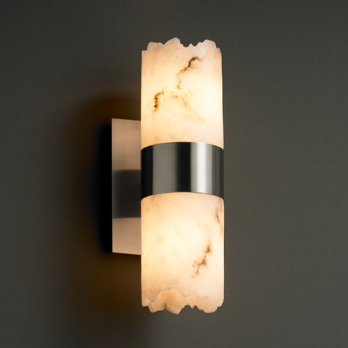 Justice Design Group Justice Design Group Lumenaria Collection Sconce FAL-8762-10-NCKL