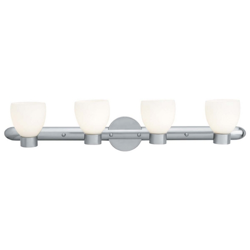 Access Lighting Access Lighting Frisco Brushed Steel Bathroom Light C23904BSOPLEN1418BS