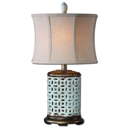 Uttermost Lighting Uttermost Rosignano Blue Buffet Lamp 29925-1