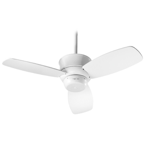 Quorum Lighting Quorum Lighting Gusto Studio White Ceiling Fan Without Light 32323-8