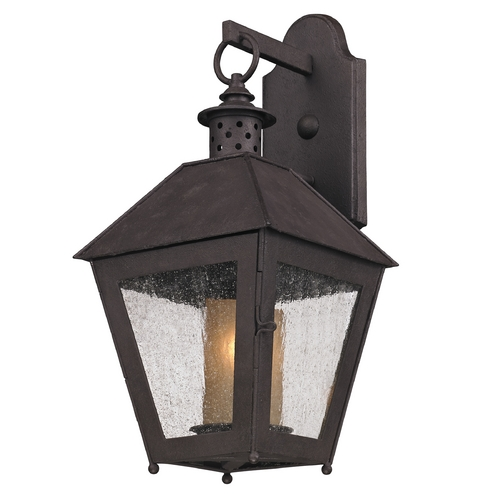 Troy Lighting Troy Lighting Sagamore Centennial Rust Outdoor Wall Light BF3292
