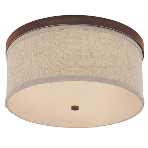 Capital Lighting Capital Lighting Burnished Bronze Flushmount Light 2015BB-479