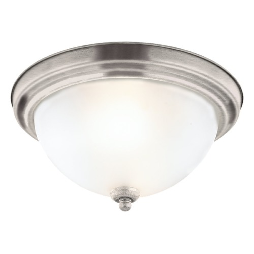 Sea Gull Lighting Sea Gull Lighting Ceiling Flush Mount Antique Brushed Nickel LED Flushmount Light 7716391S-965