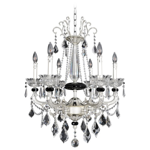 Allegri Lighting Campra 6 Light Crystal Chandelier 024454-017-FR001