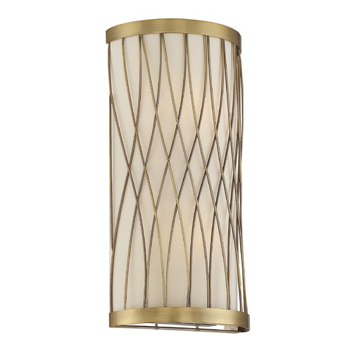 Savoy House Savoy House Lighting Spinnaker Warm Brass Sconce 9-113-2-322
