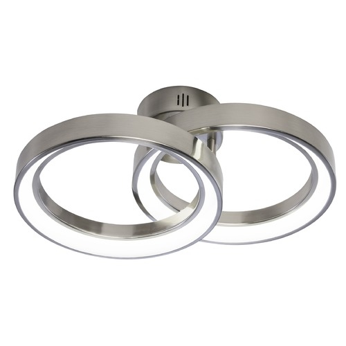 Elan Lighting Elan Lighting Fornello Brushed Nickel LED Flushmount Light 83262
