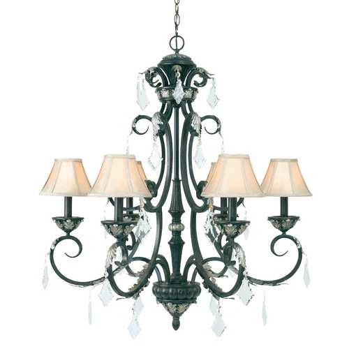 Dolan Designs Lighting Dolan Designs Florence 6-Light Chandelier in Phoenix 2100-148