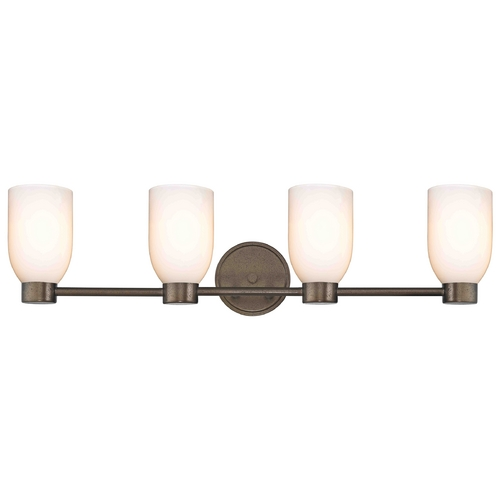 Design Classics Lighting Aon Fuse Heirloom Bronze Bathroom Light 1804-62 GL1024D