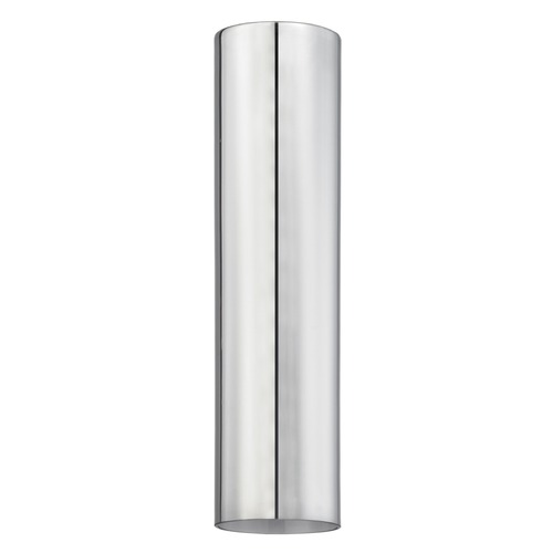 Design Classics Lighting 16-Inch Cylinder Transparent Smoke Glass Shade with 1-5/8 Fitter GL1652C