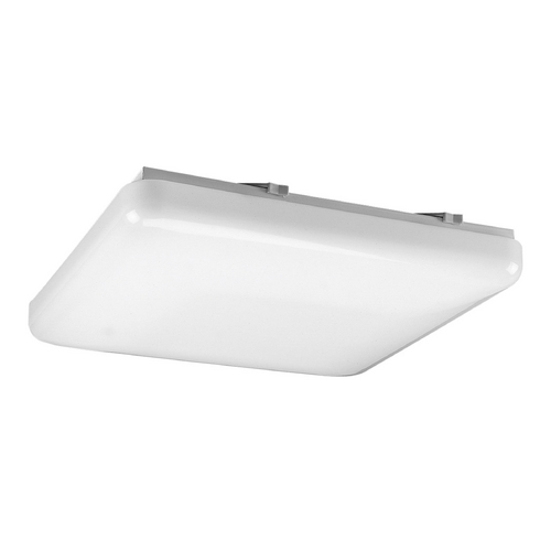 Progress Lighting Progress Flushmount Light with White in White Finish P7381-30