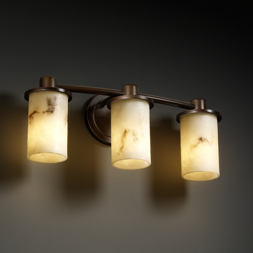 Justice Design Group Justice Design Group Lumenaria Collection Bathroom Light FAL-8513-10-DBRZ