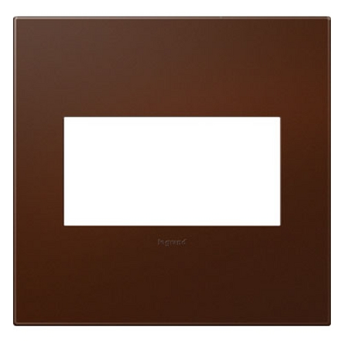 Legrand Adorne Legrand Adorne Soft Touch Russet 2-Gang Switch Plate AWP2GRS4