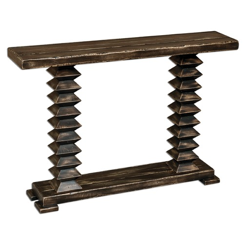 Uttermost Lighting Uttermost Ridge Wooden Console Table 25599