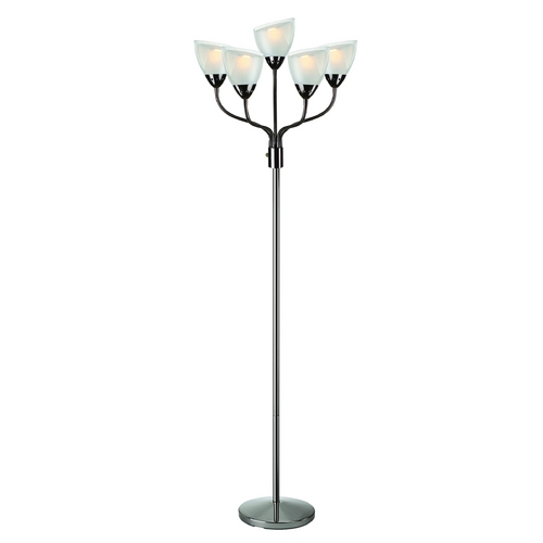 Lite Source Lighting Lite Source Lighting Elitia Gun Metal Floor Lamp LSF-82117