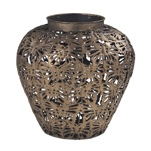 Sterling Lighting Rainford-Butterfly Filigree Planter 138-043