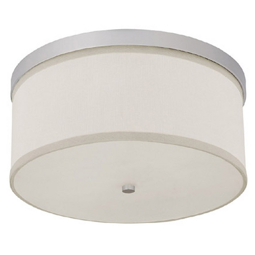 Capital Lighting Capital Lighting Matte Nickel Flushmount Light 2015MN-480